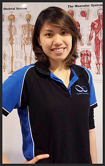 Photograph of Michelle Tang, Sports Therapist